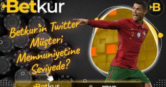 Betkur'in Twitter Müşteri Memnuniyetine Seviyede